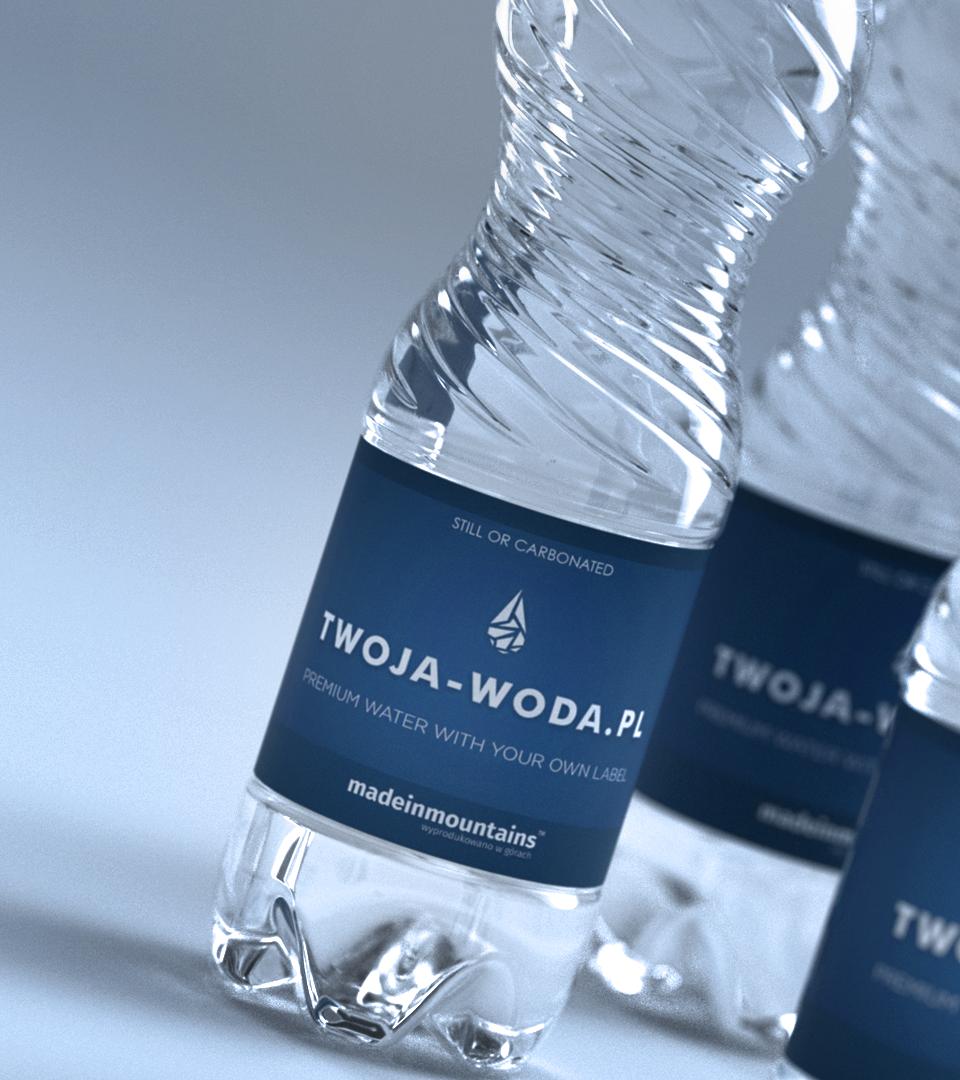 Wizualizacja - CLASSIC BLUE 0,5l | TWOJA-WODA.PL