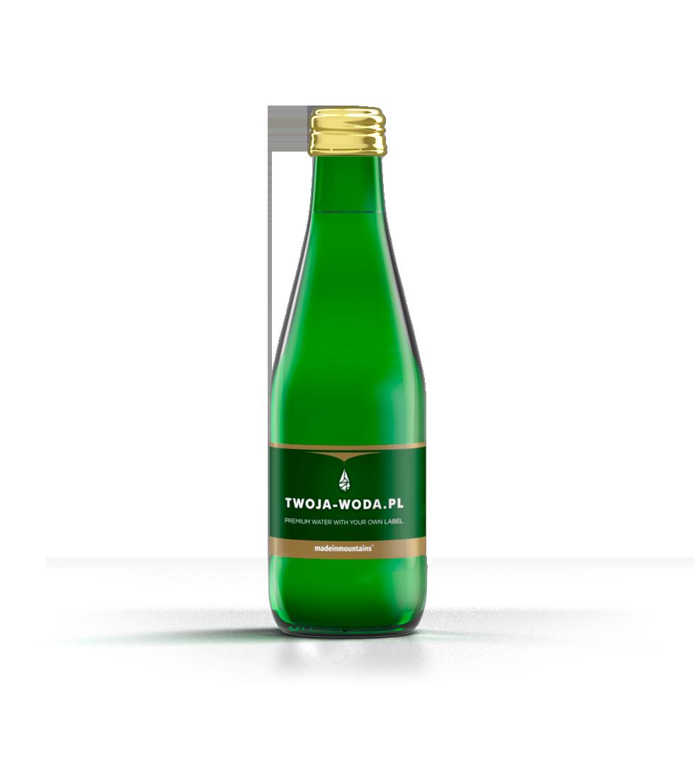 Butelka BOTTLE GREEN 0,33l | TWOJA-WODA.PL