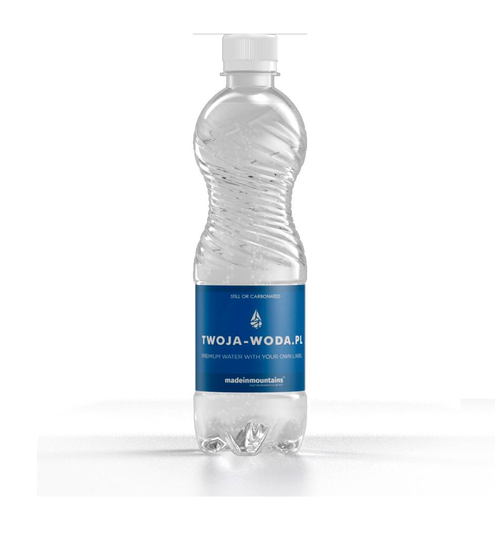 Butelka CLASSIC BLUE 0,5l | TWOJA-WODA.PL