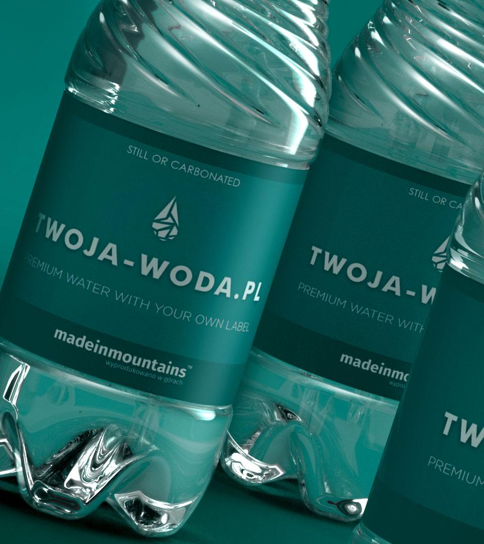 Wizualizacja - CLASSIC GREEN 0,5l | TWOJA-WODA.PL